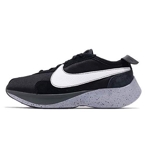 Nike Moon Racer Herren Running Trainers AQ4121 Sneakers Schuhe (UK 9 US 10 EU 44, Black White Wolf Grey 001)