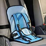 Multi-functional 2 In 1 seat cushion for young kids, babies and infants. Can be placed on car seats, or home chairs. Along with car seats, it can be Fastened to Chairs with Back Rest and can be used like a Baby Chair. Luxurious and Light Weight Desig...