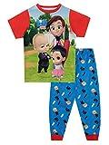 DreamWorks Pijamas para Niños Boss Baby Rojo 4-5 Años