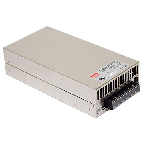 MEAN WELL SE-600-24 AC to DC Power Supply, Single Output, 24V, 25 Amp, 600W, 1.5