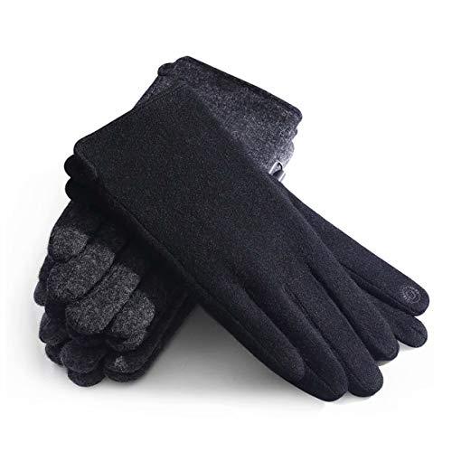 ZN-Home-Gloves Gants de en Cours d'exécution en Hiver, Gants légers pour écran Tactile, Coupe-Vent Garder au Chaud Doublure pour la Course à Pied Escalade Ski équitation Cyclisme Gants