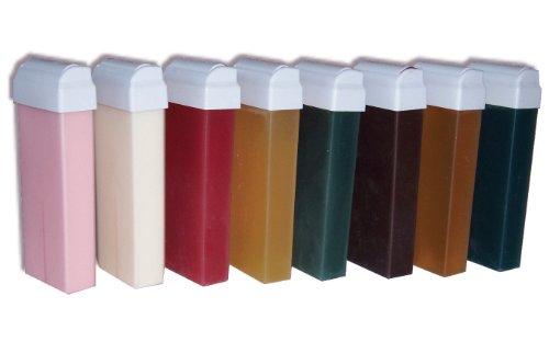 Storepil - 8 recharges de cire à épiler jetables différentes 100 ml pour test