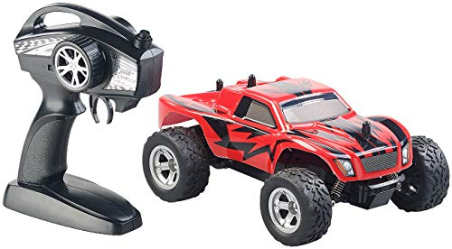 RC Monstertruck kaufen Monstertruck Bild 1: Simulus Monstertruck: Ferngesteuerter Monster-Truck Land Monster, 2,4-GHz-Funk, 15 km/h (RC Car)*