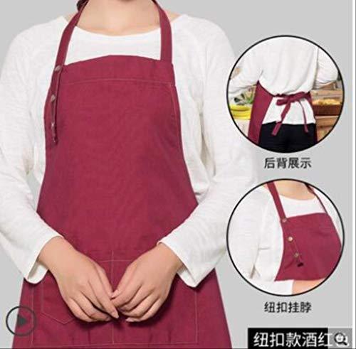 mhde Aprons Schort Denim Koreaanse Mode Mannen En Vrouwen Pocket Barista Barber Winkel Schilderen Volwassen Restaurant Koken Schort Print B 21