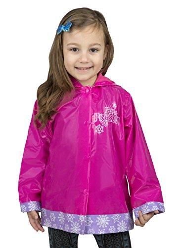 Disney Frozen Girls Rain Coat - Size 7 Pink