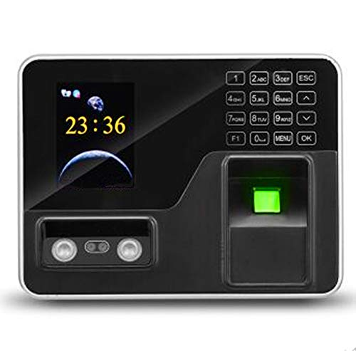 Review ZJXADS 2.8 inch TFT Screen,Fingerprint Face Recognition attendance Machine, Punch Card Machin...