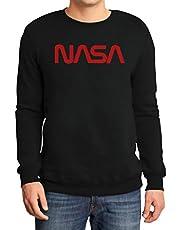 NASA Space Worm Logo Nerds & Geeks motief sweatshirt
