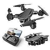 GPS Drone Mini RC Plegable con Cámara Control Remoto Avión De Juguete Altitud sin Cabeza Una Tecla de Despegue y Aterrizaje de Gravedad para Niños Y Principiantes 360°Vuelo circundante