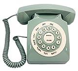Vintage à l'ancienne téléphone Fixe téléphone téléphone de Bureau pour la décoration des ménages(Vert)