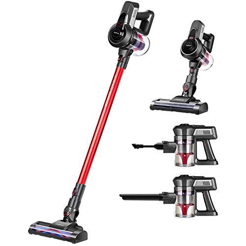 Jajibot Cordless Vacuum Cleaner, 12000Pa Stick Vacuum, 2 In 1 Handheld...