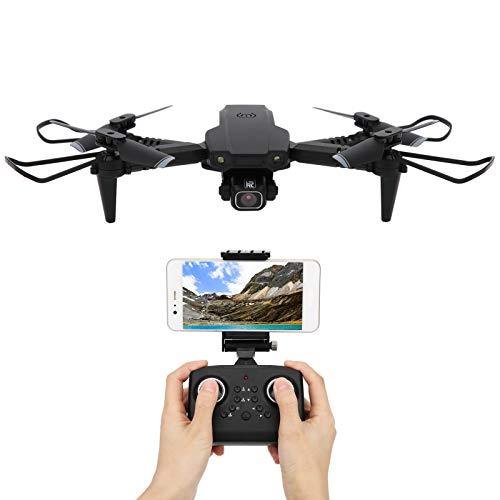 01 Quadrotor, Mini Quadrotor, Drone de Doble cámara, Mini Drone pequeño, Portátil con función WiFi para capturar imágenes Negro al Aire Libre