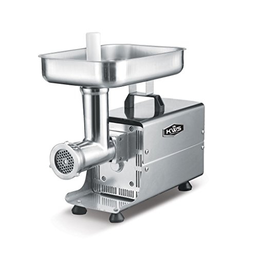 KWS SL-8 Commercial 450W 1/2HP Electric Meat Grinder Stainless...