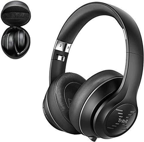 Tribit XFree Tune Bluetooth Headphones Over Ear -...