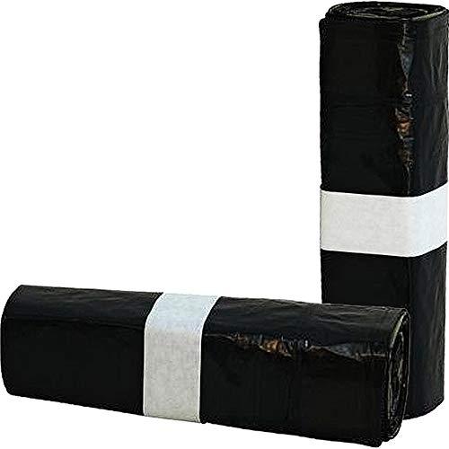 Müllbeutel Reißfest Super Stark mit Zugband 60l   400 Stück 20 Rollen mit je 20 Säcken   Müllsack Mülltüte Abfallsäcke für Zuhause, Büro, Geschäft oder Industrie...
