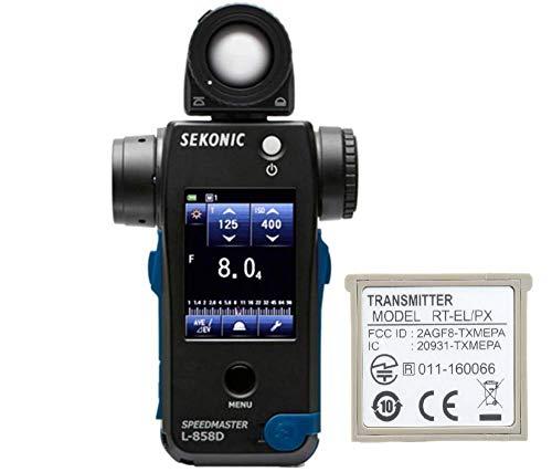 Sekonic L-858D Speedmaster incl. RT-EL/PX Transmitter