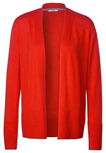 Cecil Damen B253065 Strickjacke, Funky orange, X-Large