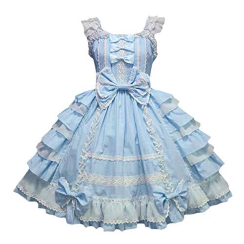 Eaylis Damen Party KleidBallkleid Gotische Lolita Abendkleid Mit Bowknot Fuer Bequeme...
