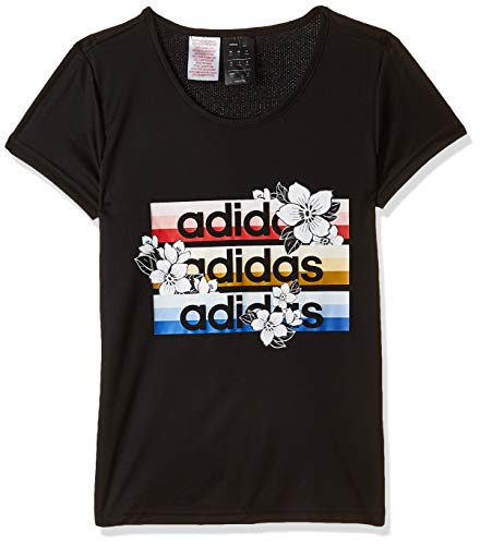 adidas Mädchen T-Shirt C T X Farm, schwarz, 170, FI2739