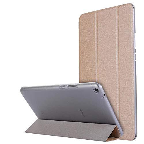 Caja de la Tableta para Huawei Mediéspad T3 8 Funda de Cuero de la Tapa de pie para el Honor Play Pad 2 8 0 Pulgadas KOB-L09 KOB-W09-Oro