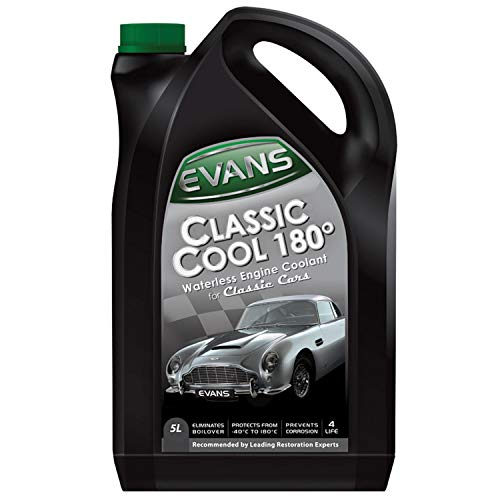 Evans Classic Cool 180–wasserloses Motor-Kühlmittel für Oldtimer–5Liter