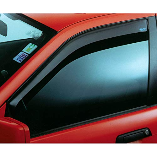 Vordere Windabweiser (1 Set) für die Fahrer und Beifahrerseite-CLI003P0024 passend für Citroen C3 AIRCROSS SUV, TYP 2, 5-Door, 2017-