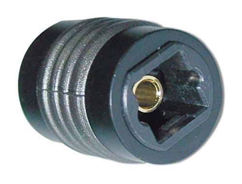 rhinocables Optisches Toslink Kabel Digital-Audiokabel zur Verbindung von Soundbar, Stereoanlage, Heimkino, Xbox One & PS4 (Koppler)