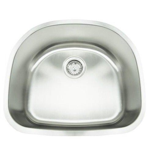 "Frigidaire FR2321-D9 sinksinksteel Gallery 23"" Undermount Kitchen Sink, Stainless Steel"