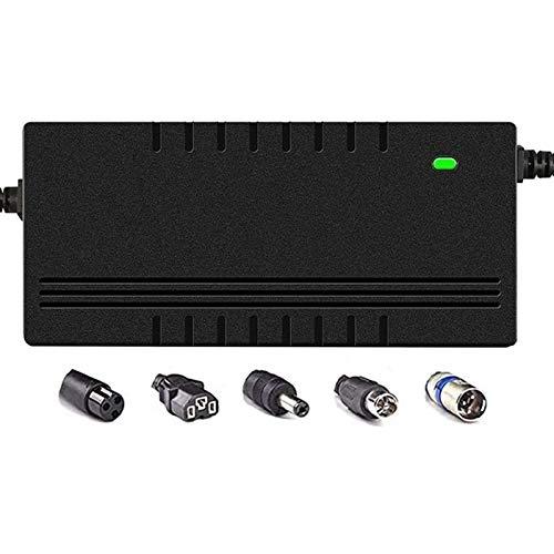 LIUPING 42V 2A / 3A / 5A Netzteil Adapter Universelles Ladegerät Kompatibel Mit Elektroroller, Balance Scooter, Drifting Board, Einrad, Elektrofahrrad Mit 36V Li-On Akku (Color : 3V, Size : B)