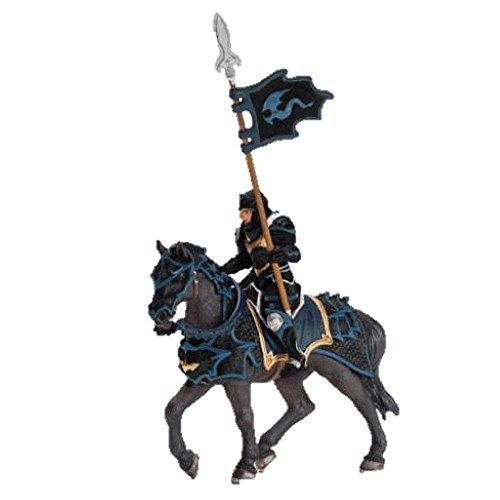 SCHLEICH Ritter Drag Pferd mit Speer