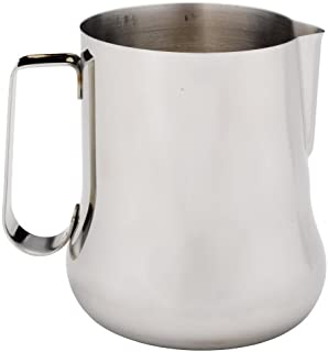 Rattleware 27900 12 oz Milk to Perfection Pitcher Silver
