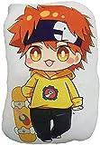 YYOUXIUU Anime SK8 The Infinity Hug Cushion Cute Little Stuffed Animal Throw Plushie Doll Chinen Kyan Reki2 Animal Props for Game Fans Gift 35cm/48cm (Reki2,13.77in)