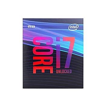 Intel Core i7-9700K Desktop Processor 8 Cores up to 3.6 GHz Turbo unlocked LGA1151 300 Series 95W