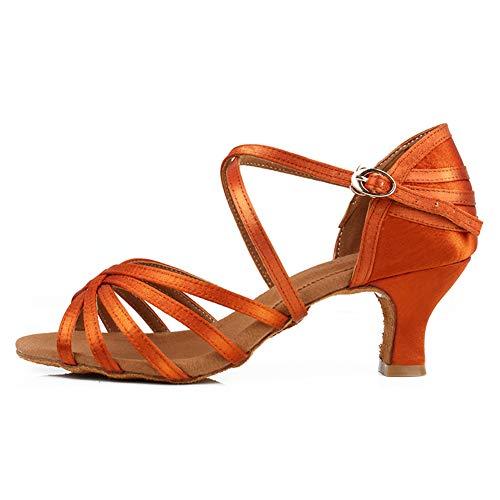 TINRYMX Zapatos de Baile Latino para Mujer Salón de Baile Fiesta clásica...