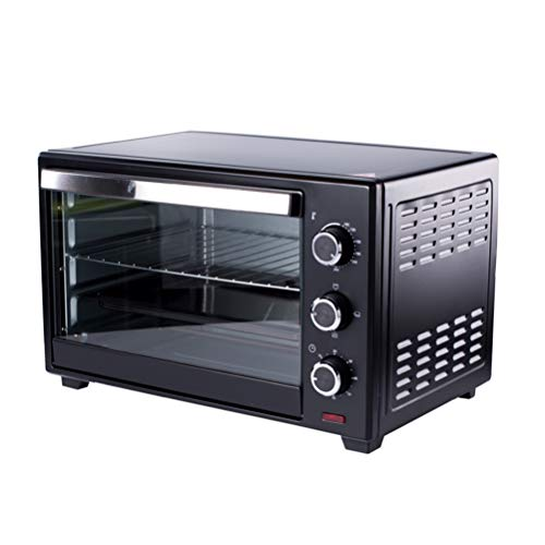 40L Electric Oven, 1600W Large Capacity, 230℃ Temperature Control and 60-Minute Timer, Christmas Toaster Oven, Multi-Function Countertop Oven