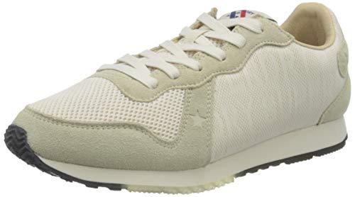 Superdry Retro Logo Runner, Zapatillas Mujer, De Blanco, 38 EU