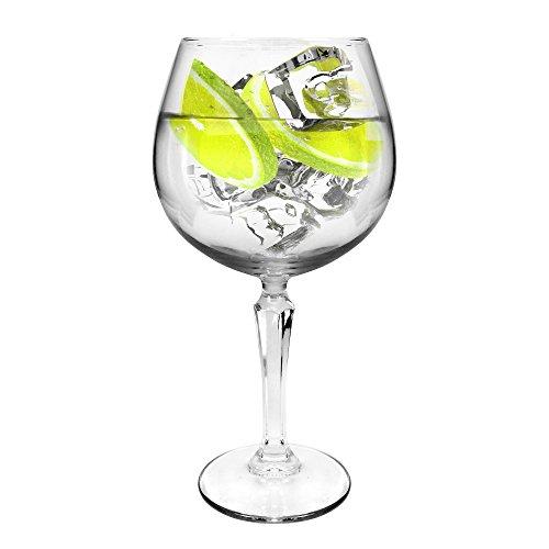 Ginsanity Speakeasy Coupe de Verres Gin & Tonic Ballon Cocktail/Lunettes dans Une Boîte Cadeau [585ml]