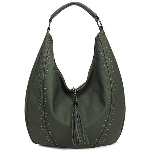 The craftsmanship and materials of the handbag are all top grade. It comes with an Sturdy SHOULDER STRAP and there is also a HANDLE on the top of this bag, You can use it as a Should bag or Handbag. This satchel is so WELL CONSTRUCTED and COMFORTABLE...