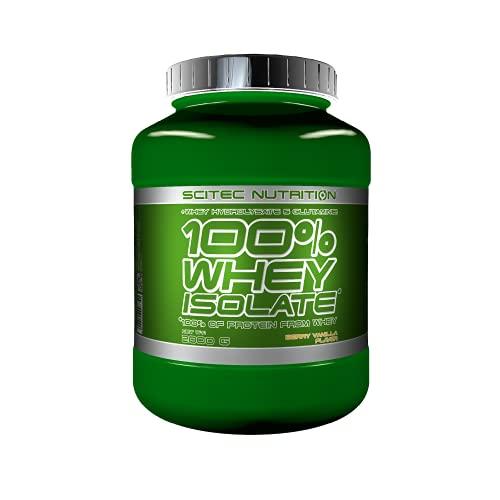 Scitec Nutrition 100% Whey Isolate con l'aggiunta di L-Glutammina extra, 2 kg, Vaniglia e Frutti di bosco
