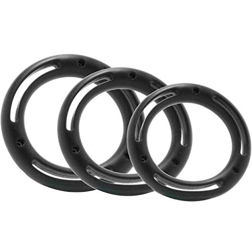 PG Silicone Male Enhancer Rings Delay Finish Toys for Men Couples PowerfulG11960