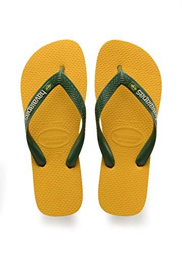 Havaianas Brasil Logo, Chanclas Unisex niños, Amarillo (Banana Yellow), 29/30 EU