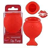 Lip Plumper Enhancer, ROMANTIC BEAR Goldfisch Form natürliche Saug-Tool für Sofortige Plumping der Oberen und Unteren Lippen, Sexy & Volle Lippen