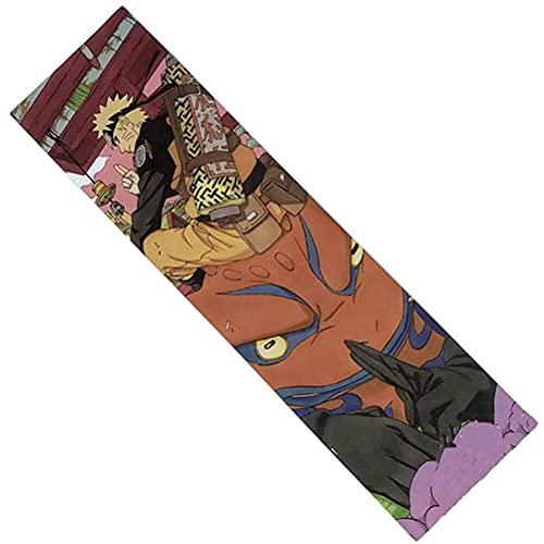 Hahepo Skateboard Anime Grip, Skateboard Grip Blase freie wasserdichte Aufkleber Die Wahl von Profis weltweit für Skateboard Longboard Scooter Roller Boost Board