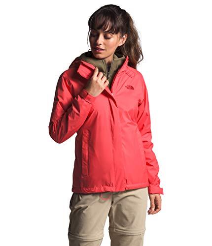 The North Face Venture 2 - Giacca impermeabile con cappuccio, da donna, colore: Rosso Cayenne, XS