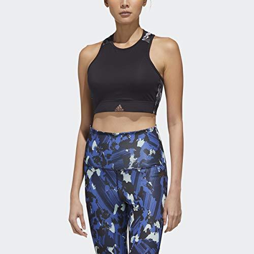 adidas x Zoe Saldana Collection Women's Sports Bra Women's, Black, Size XS