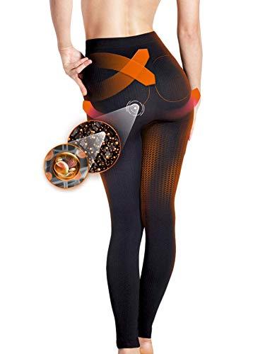 Lytess - Legging Stop Cellulite Noir - Peau lissée - Résultats prouvés cliniquement - S/M : 36-42