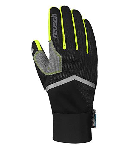 Reusch Herren Arien STORMBLOXX Handschuhe, Black/neon Yellow, 8.5