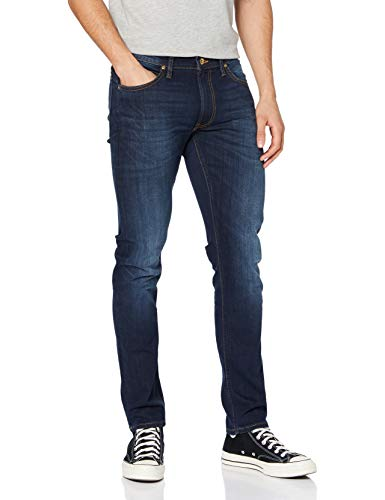 Lee Herren Luke Jeans, Blau True Authentic Gcby, 33W / 32L