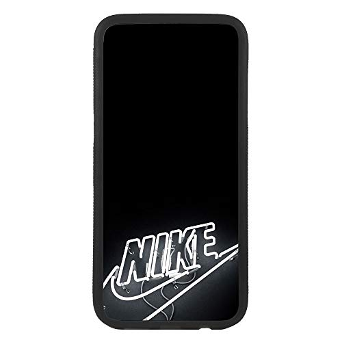 afrostore Custodia Cover per Apple iPhone 5c Logo Nike Neon Logo TPU Bordo Nero