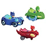 New Brand PJ Masks Big Cars Toys 3 pcs Heroes Figures and 3 Pcs Cars with Lighting and Music Popular Cartoon Figure Toys