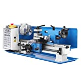 Mophorn Metal Lathe Precision Mini Lathe Variable Speed 2500 RPM 550W Mini Metal Lathe Micro Metal Milling Bench Top Lathe Machine,7 x 14-Inches